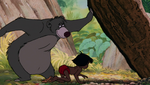 Baloo Showing Mowgli Ants