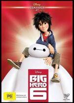 Big Hero 6 2016 AUS DVD