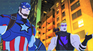 Captain America and Hawkeye AUR 1