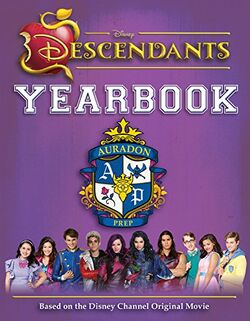 Descendants Yearbook (alternate cover)