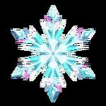 Frozen - Elsas Snowflake (transparent)