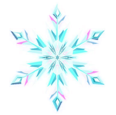 File:Frozen - Elsas Snowflake (transparent).png