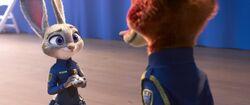 Judy at Nick's graduation