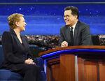 Julie Andrews visits Stephen Colbert
