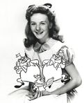 Kathryn Beaumont with added alice characters