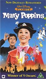 Mary Poppins 1998 UK VHS