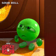 Sour bill wallpaper