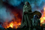 Star Wars The Rise of Skywalker - Photography - Luke Skywalker and R2-D2