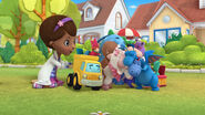 The toy gang cuddles bronty