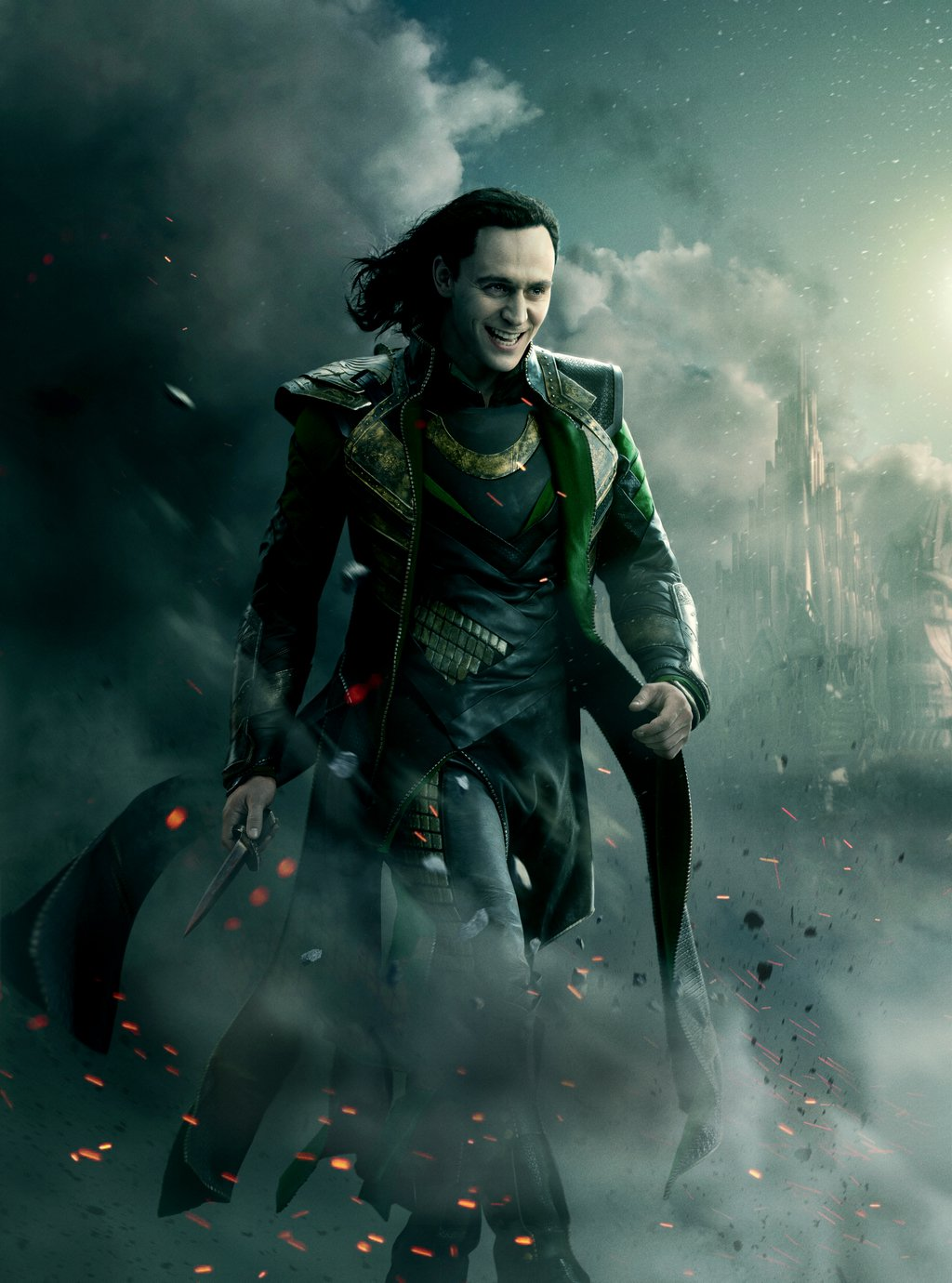 image - thor the dark world - loki - textless poster 2 | disney