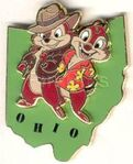 Chip and Dale Ohio pin