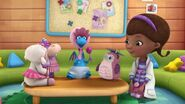 Everyone but Chilly sees Stuffy dressed as a baby
