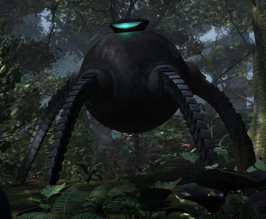 Omnidroid V 8 (The Incredibles) Vs A Beholder (D&D 5e