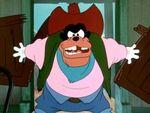 Pete in Two-Gun Goofy