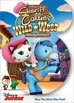 Sheriff Callie's Wild West Howdy Partner! DVD