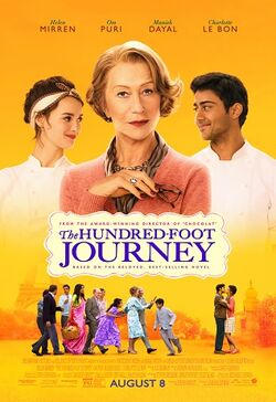 The Hundred Foot Journey (film) poster