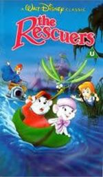 The Rescuers 1991 UK VHS