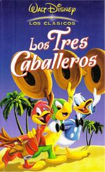 The Three Caballeros 2002 Spain VHS