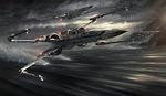 X-wing Promo Art TFA