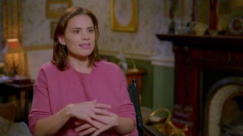 "CHRISTOPHER ROBIN ""Evelyn Robin"" Hayley Atwell Interview"