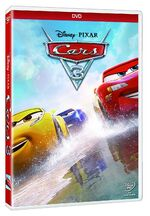 Cars 3 DVD Mexico