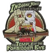 DLR - Indiana Jones Adventure (The Temple of the Forbidden Eye) Hinged