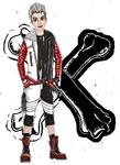 Descendants 2D Characters - Carlos
