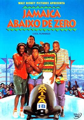 Jamaica abaixo de Zero - capa do DVD