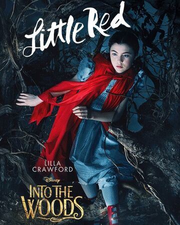 Little Red Riding Hood Into The Woods Disney Wiki Fandom