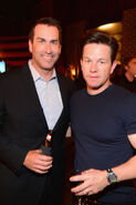 Mark Wahlberg & Rob Riggle at SpikeTV's Guys Choice party