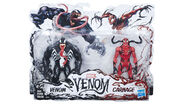Marvel venom 6-inch figure 2-pack venom and carnage - h 2018