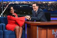 Niecy Nash visits Stephen Colbert