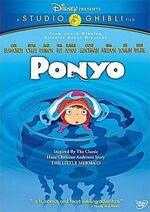 Ponyo US DVD