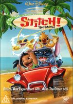 Stitch! The Movie 2003 AUS DVD