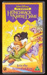 The Hunchback Of Notre Dame (1997 UK VHS)