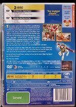 Toy Story 3 Australian Bonus DVD Edition Back Cover
