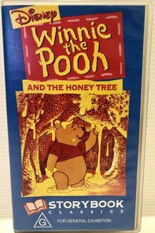 Winnie the Pooh and the Honey Tree 1995 AUS VHS