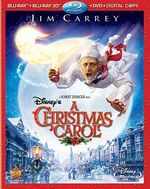 AChristmasCarol 3D Bluray