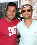 Adam Sandler & Greg Kinnear at Veuve Clicquot Polo