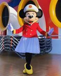 Captain Minnie Mouse (with skirt)