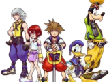 Personajes de la Saga de Kingdom Hearts