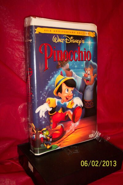 Pinocchio 1999 vhs 60th anniversary edition