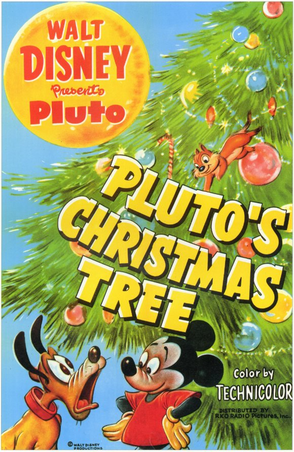 plutos christmas tree
