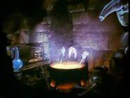 Snow white cauldron