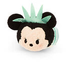 Statue of Liberty Minnie Mouse Tsum Tsum Mini