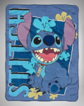 Stitch fleece blanket