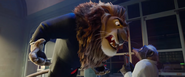 Zootopia Angry Lionhart