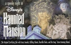 A Spooky Night in Disney's Haunted Mansion (1998 Cassette)
