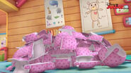 A lot of pink diapers