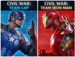 Civil War-Team Cap Iron Man
